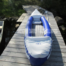 New Arrival Aqua marina 1 + 1 preson inflatable kayak sport canoe 292 * 80 cm Casual Canoe Inflatable boat playing water toys