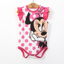 summer Baby Boy Clothes cute Minnie Mickey Newborn baby girls Clothes Baby Rompers Next Baby Body Jumpsuit