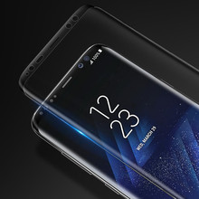 KISSCASE 9H Tempered Glass For Samsung Galaxy S8 S8 Plus Screen Protector Full 3D Curved Front Glass Film For Samsung S8 s8 Plus