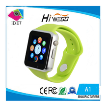A1 WristWatch Bluetooth Smart Watch Sport Pedometer With SIM Camera Smartwatches For Android smartphone Russian Calculator