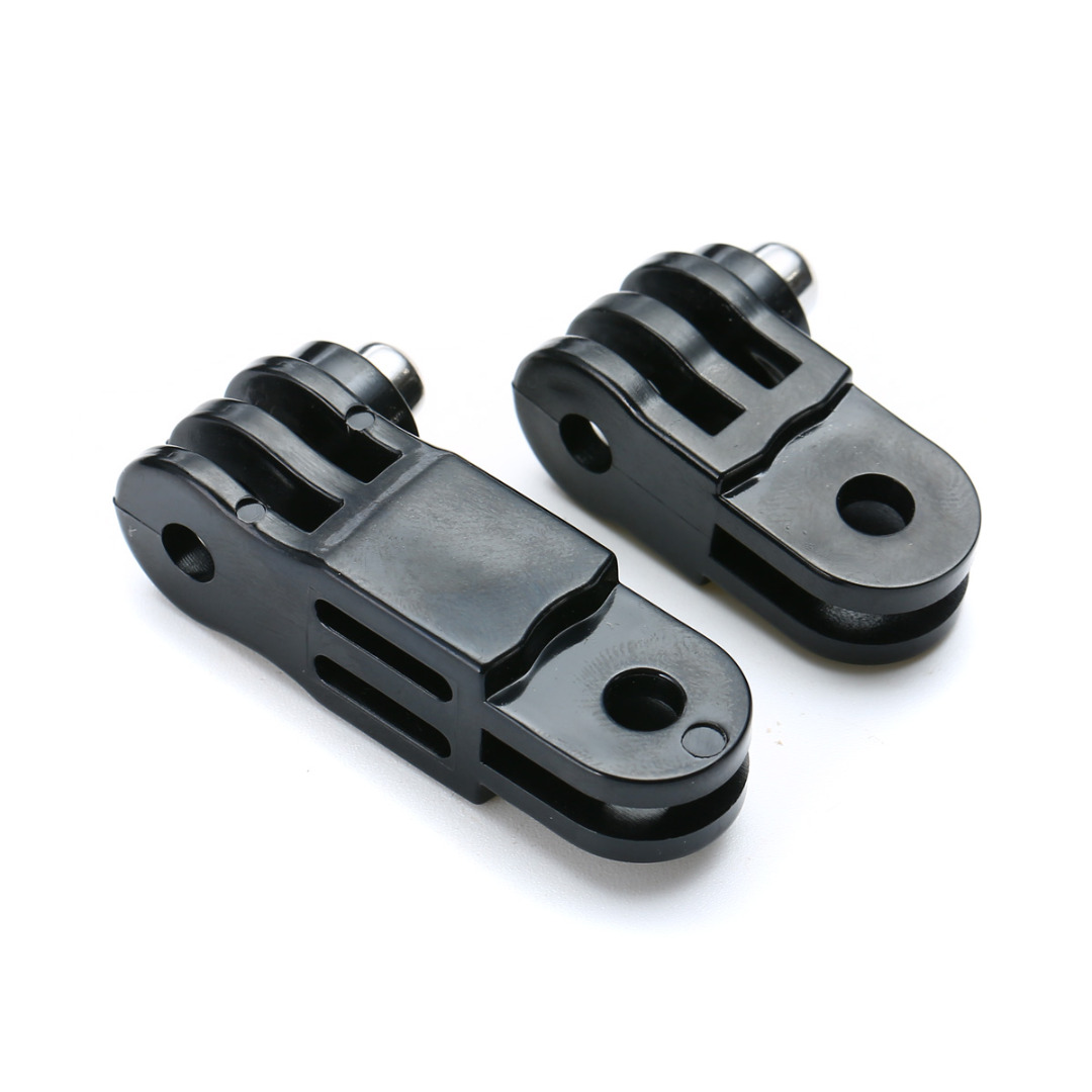 Black Long & Short Straight Joint Accessories Set for GoPro Hero 3+/3/2/1/4 Sports Action Camera Accessories Parts Mayitr