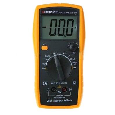 NFLC-VICTOR capacimeter PORTABLE ELECTRONICS VD6013 - 3 1/2 DIGIT - 0.1pF: 20.000uF<br>