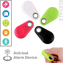 Smart ITag GPS Tracker Key Finder Locator With Wireless Bluetooh 4.0 Home Security Anti Lost Alarm Sensor For Kids Wallet Key(Hong Kong)
