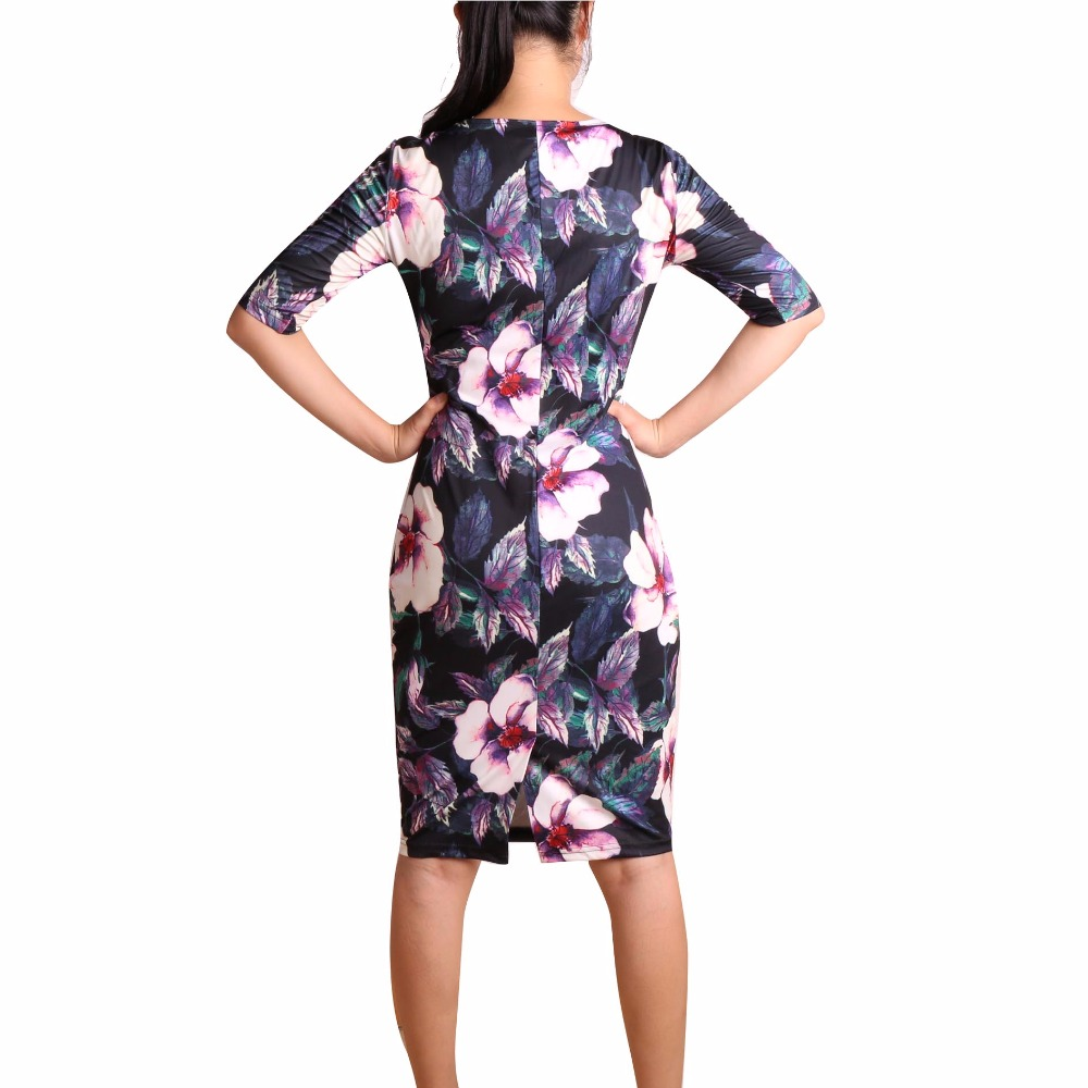 ef007af6aa5 Free Shipping Women Dress Elegant Business Casual Wear To Work Party ...