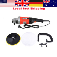 "Car Polisher Machine Heavy Duty 7"" Electric 6 Variable Speed Car Polisher Polishing Machine Buffer Waxer Sander(China)"