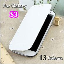 Leather Case Flip Cover Sleeve Bag Original Battery Housing Holster Shell Case For Samsung Galaxy S3 I9300 S3 case