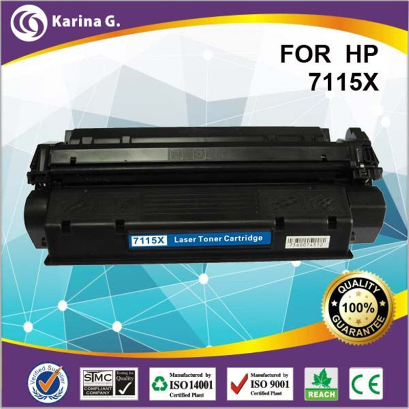 high page yield Laser toner cartridge 7115x 15x for hp C7115x for Canon LBP 1210 HP LaserJet 1000/1005/1220SE/3300MFP 3320n MFP(China (Mainland))
