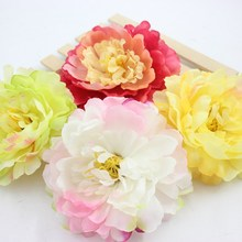 2 pcs Pink Silk Lily Flower Tulip Ball-flower Hat Shoes Clothes Pectoral Flower Wreath Christmas Decorative Materials 4.3 Inch(China)
