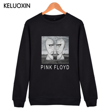 KELUOXIN Pink Floyd Capless Hoodies Men 3D Print Hip Hop Pullover Sweatshirt Brand Clothing Rick Wright Nick Fleece Streetwear(China)