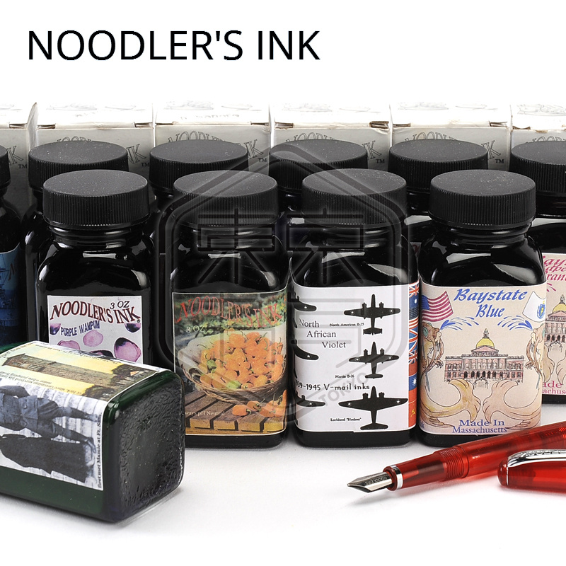 USA Original Noodler s Ink catfish forever black sex gradual change color is the color of water Classic multicolor <br><br>Aliexpress