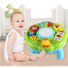 SINGIO Music Table Baby Toys Learning Machine Eductional Toy Music Learning Table Toy Musical Instrument for Toddler 6 month+