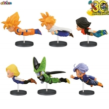 Dragon Ball Z 30th Anniversary Vol. 3 WCF Assorted Figures Goku/ Android 18/ Cell  PVC Action Figure Collection Model Kids Toy