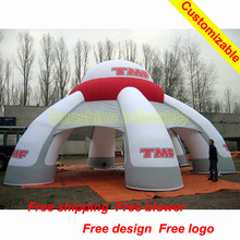 High quality 8m Inflatable Booth Tent for Advertising/Exhibition/Events Decoration