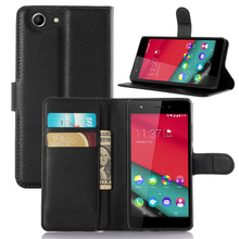 Luxury Coque Fundas For Wiko Pulp 4G 5.0 Inches Phone Case With Stand Wallet PU Leather Flip Cover Bags Skin For Wiko Pulp 4G