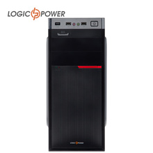 LOGIC POWER desktop computer  case  New Arrivals 80mm FAN, CD-ROMx2, HDDx1, PCIx7, USBx2, AUDIO In / Out #4209