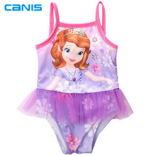 Black Friday Deals New Kids Swimming Beachwear Clothes Girls Strappy Swimsuit Bathing Swimming Suit Swimwear 2-8Y(China)