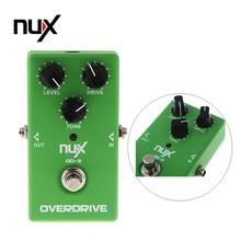 Electronic New NUX OD-3 Overdrive Guitar Guitarra Violao Electric Effect Pedal Ture Bypass Green Musical Instrument Parts(China)