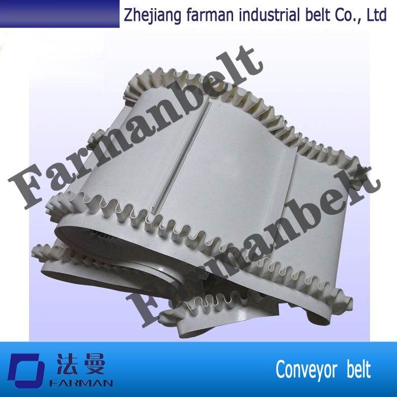 Trade Assurance Modular Flat Pu Baffle Plate Sidewall Conveyor Belt<br>