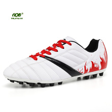 YILINGYI Football Boots Original Soccer Shoes Turf Teens Soft Cleated Shoe Sport Studded Boots Sneaker ZQX024