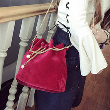 xiniu Women Fashion Solid Handbag Drawstring Shoulder Bag Tote Ladies Purse Female Crossbody Bags for Women Handbag