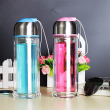 Double Wall Coffee cup Bottles Tumbler Glass Tea Drinking,Insulation Cup,Thermo cup Coffee Tea Mug,Creative Gifts