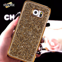 Buy KISSCASE Samsung S8 S8 Plus Luxury Case Glitter Rhinestone Crystal Hard Cover Case Samsung Galaxy S6 S7 Edge S5 Note 5 for $3.99 in AliExpress store