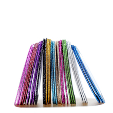 12pcs/lot 1mm Golden Glitter Strip Tape Line Nail Art Decoration Sticker DIY Nail Art Striping Tape Line Case Tip
