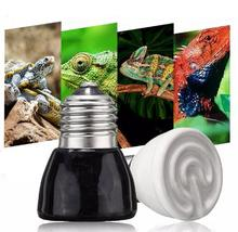 E27 50W Mini Infrared Ceramic Emitter Heat Light Lamp Bulb For Reptile Pet Brooder 220V(China)