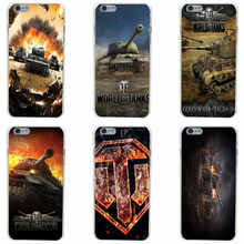 181GH World of tanks Hard Transparent Cover Case for iphone 4 4s 5 5s 6 6s plus 7 7 Plus