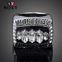 SOXY  Exquisite High-end Collection 2002 Auckland Raiders Rugby NFL Super Bowl Champion Rings