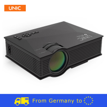 UNIC UC46 1200Lumens 2.4G WIFI Airplay Miracast Mini Projector UC40 Upgrade HDMI AV USB SD IR Home Theater Beamer Multimedia