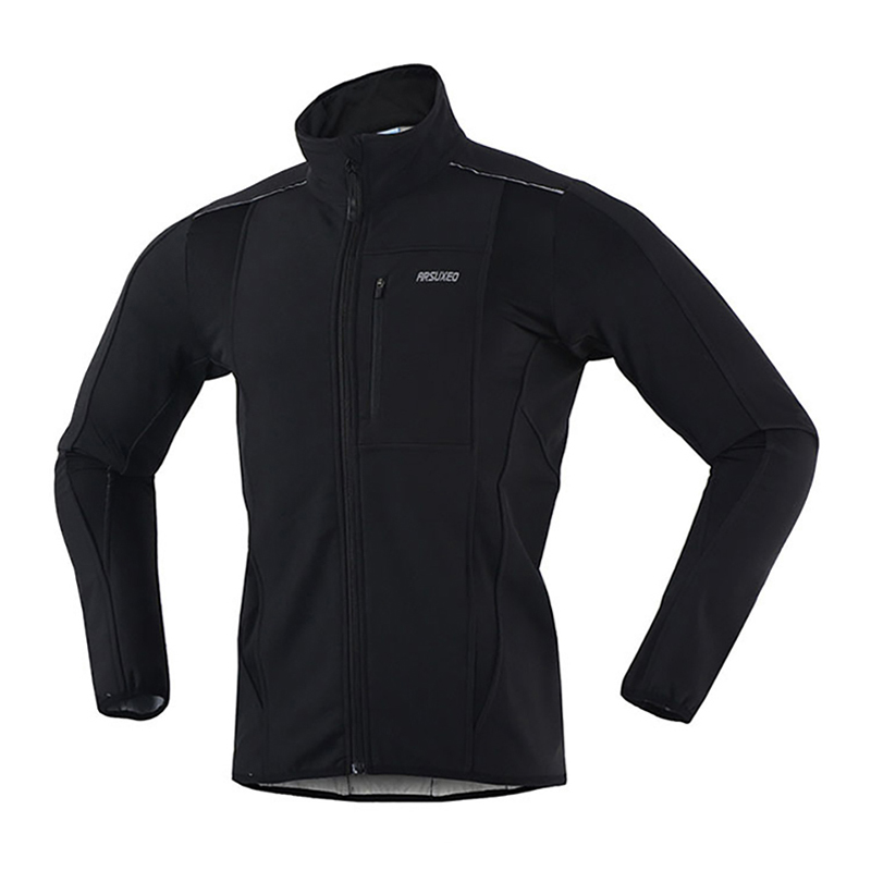 Warm Up Bicycle MTB Bike Cycling Jersey Male Cycling Jacket Winter Men Thermal Bicycle Clothing Windproof Sports Coat<br>