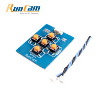 Original RunCam Key Board with 1.25mm 2pin FPV Silicone Cable for Micro Sparrow Micro Swift 2 FPV Camera Spare Parts Accessories(China)