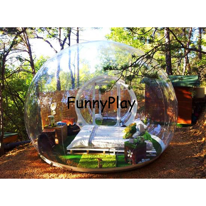 Outdoor Camping Bubble Tent2