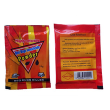 50 bags/lot,Dry Use Bed bugs Powder,High Effective for Bedbugs,Cockroach ,Fleas,Ants 10g/Bag Bedbugs killer  HH16041b(China)