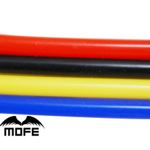 Mofe car styling four colors 50M Inner Dia: 8MM Silicone Vacuum Hose / Tube / Tubing