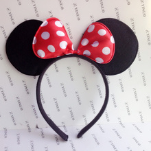 COSPLAY Headwear  Mickey Minnie mouse ears Hairdband Hair accessories for Party Children and adults Free shipping