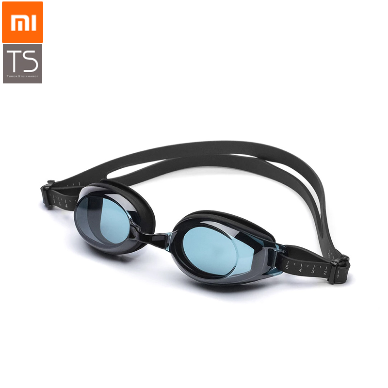 stock, New Original Xiaomi TS Swimming Goggles Swimming Glasses HD Anti-fog 3 Replaceable Nose Stump Silicone Gasket