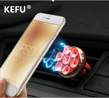 KEFU Universal Car Holder Magnetic Air Vent Mount Smartphone Dock Mobile Phone Holder Cell Phone Holder Stands For iPhone