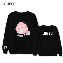 Youpop Kpop TWICE TWICELAND MOMO JIHYO Album Hoodie K-POP Cotton Hoodies Clothes Pullover Printed Long Sleeve Sweatshirts WY426
