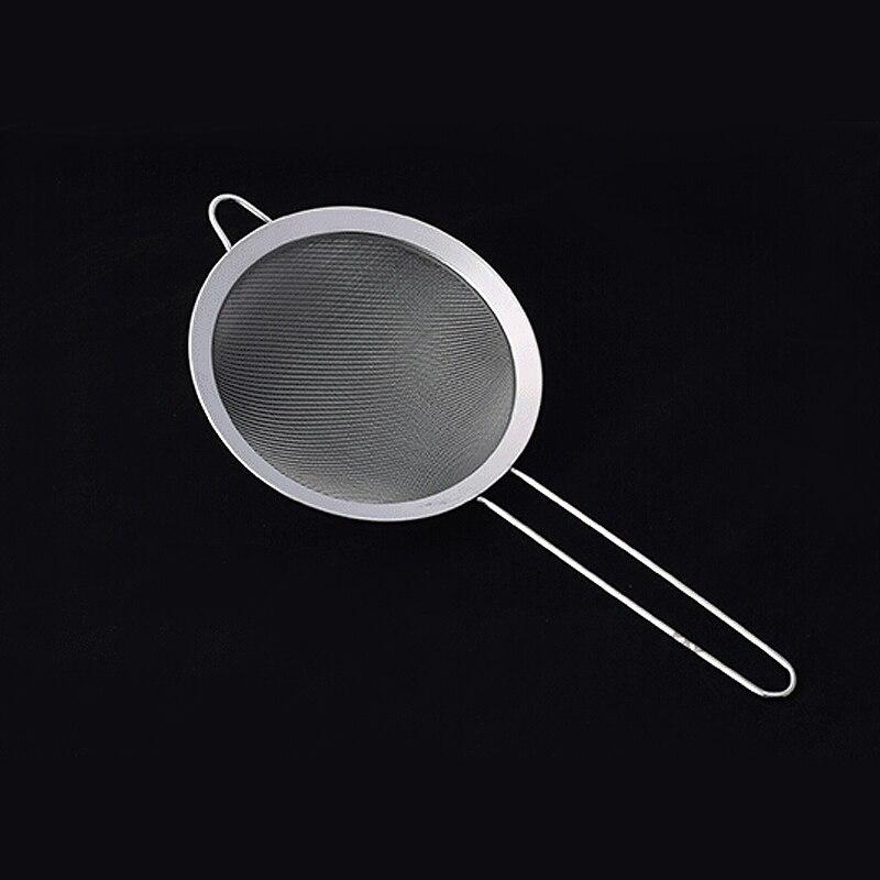 18cm Stainless Steel Mesh Strainer Colander Strainer Oil Sieve Sifter Tea Tool