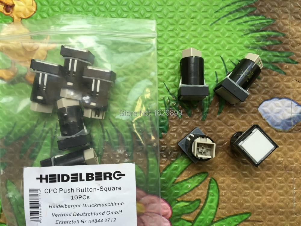 10 pieces free shipping 81.186.3855/02 heidelberg cpc Illuminated push button, heidelberg cpc button<br><br>Aliexpress