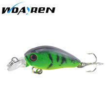 Hot Sale 4.5cm 4g Swing Popper Fishing Lure Top water Crank bait hard Fish Bait For Saltwater Freshwater 6 Colors Optional FA312