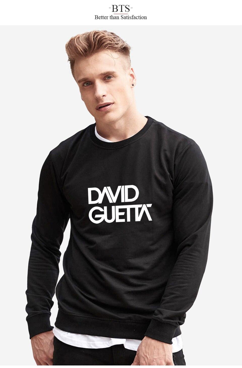 BTS Funny David Guetta Tracksuit Loose Hoodie Sweatshirt Boys Harajuku Comfortable Oversized Hoodie Long Winter Streetwear Tops