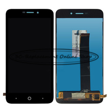 Black High quality 5.0 inch For ZTE Blade A601 BA601 Touch Screen Digitizer + LCD Display Assembly Replacement Free shipping(China)