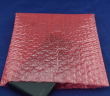 Red Color Double Film Bubble Bags/ Plastic PE two 2 layer Packing Envelopes/ Anti-static Shockproof Padded Pouches Bubble Bag(China)