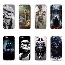 Star Wars Han Solo Frozen in Carbonite Cool Print Fundas Case For iPhone 6 6S 5 5S SE 7 Plus STARWARS COFFEE STORMTROOPE Covers