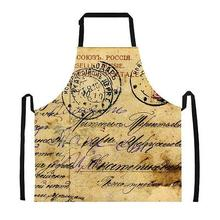 1Pc Cooking Apron Funny Novelty BBQ Party Apron Men Women vintage Kitchen Cooking Apron Multi designs Delantales(China)