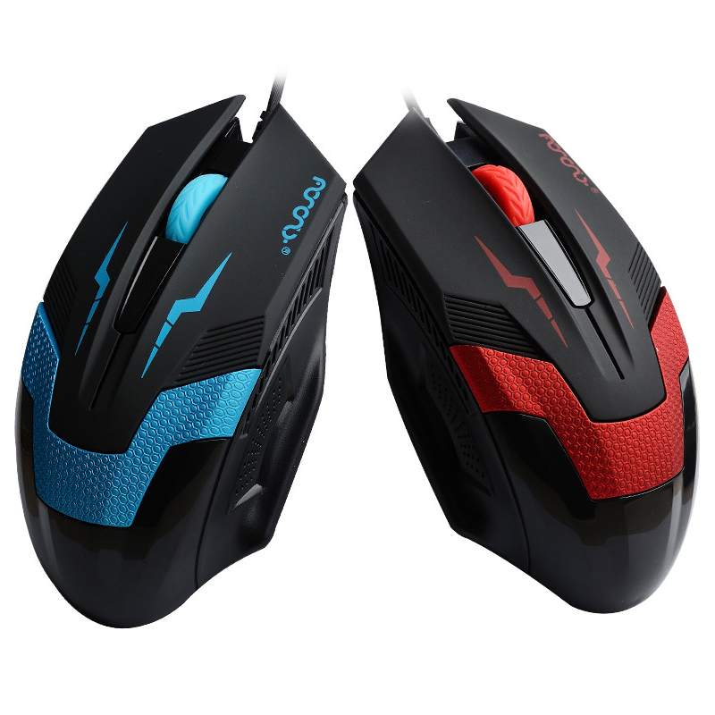 Professional Wired Gaming Mouse with USB 1600DPI Optical Gaming Mouse USB Wired Game Mice For Computer Peripherals