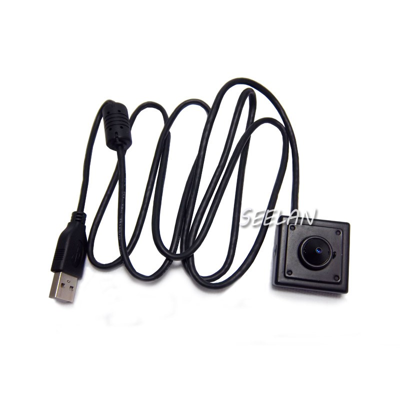 2.1mm lens 720P MINI USB Camera 1.0 Megapixels USB HQCAM mini camera ATM Bank Camera Support Mini CCTV Android Linux UVC Webcam<br>